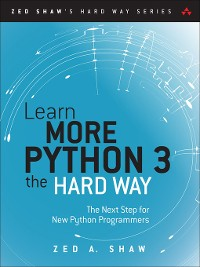 Cover Learn More Python 3 the Hard Way