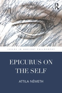 Cover Epicurus on the Self