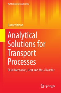 Cover Analytical Solutions for Transport Processes