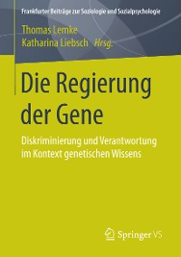 Cover Die Regierung der Gene