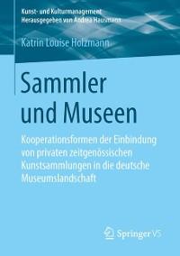 Cover Sammler und Museen