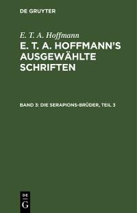Cover Die Serapions-Brüder, Teil 3