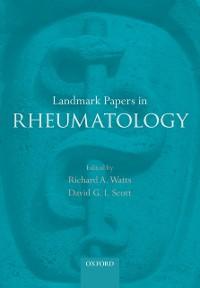 Cover Landmark Papers in Rheumatology