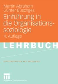 Cover Einfuhrung in die Organisationssoziologie