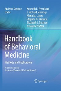 Cover Handbook of Behavioral Medicine