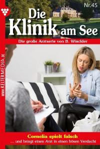 Cover Die Klinik am See 45 – Arztroman