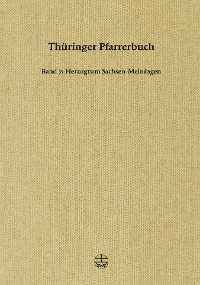 Cover Thüringer Pfarrerbuch
