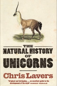 Cover Natural History Of Unicorns
