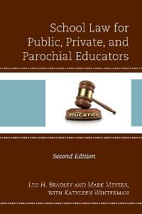 Cover School Law for Public, Private, and Parochial Educators