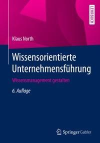 Cover Wissensorientierte Unternehmensfuhrung