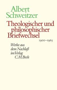 Cover Theologischer und philosophischer Briefwechsel 1900-1965