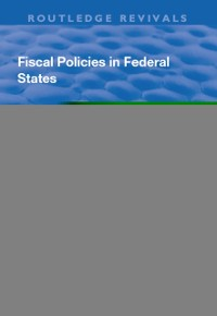 Cover Fiscal Policies in Federal States