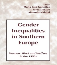Cover Gender Inequalities in Southern Europe