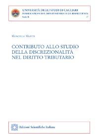 Cover Contributo allo studio della discrezionalità nel diritto tributario