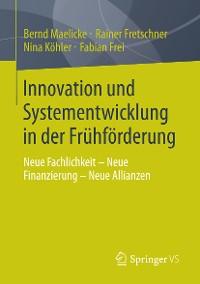 Cover Innovation und Systementwicklung in der Frühförderung