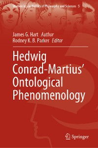 Cover Hedwig Conrad-Martius' Ontological Phenomenology