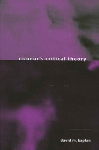 Cover Ricoeur's Critical Theory