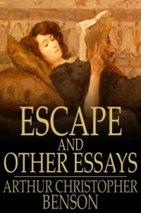 Cover Escape and Other Essays