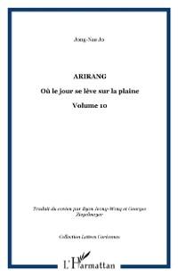 Cover Arirang jour se leve sur la plaine vol.1