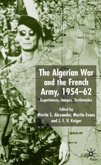 Cover Algerian War and the French Army, 1954-62