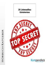 Cover 38 Listenaufbau-Geheimnisse