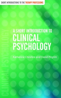 Cover A Short Introduction to Clinical Psychology