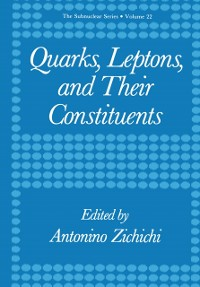 Cover Quarks, Leptons, and Their Constituents