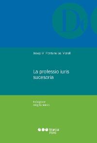 Cover La professio iuris sucesoria