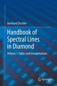 Cover Handbook of Spectral Lines in Diamond