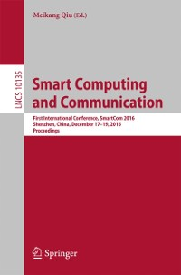 Cover Smart Computing and Communication