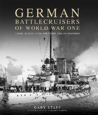 Cover German Battlecruisers of World War One
