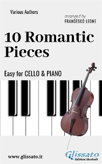 Cover 10 Romantic Pieces - Easy for Cello and Piano