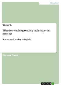 Cover Effective teaching reading techniques in form six