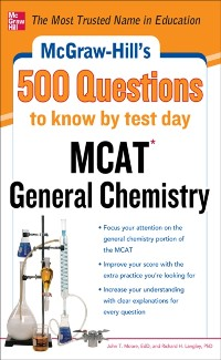 Cover McGraw-Hill's 500 MCAT General Chemistry Questions to Know by Test Day