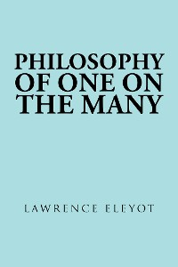 Cover Philosophy  of One on the Many