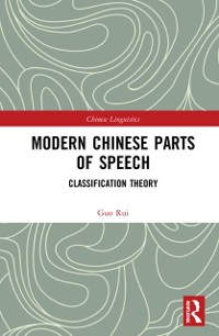 Cover Modern Chinese Parts of Speech