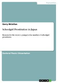 Cover Schoolgirl Prostitution in Japan