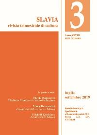 Cover Slavia N. 3 - 2019