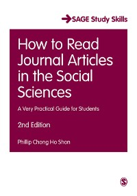 Cover How to Read Journal Articles in the Social Sciences