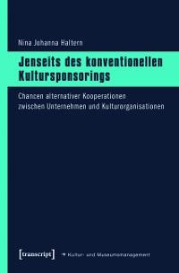 Cover Jenseits des konventionellen Kultursponsorings