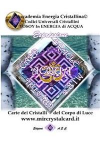 Cover Oracle Crystal Card MIR in Energia di Acqua Espressione