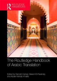 Cover Routledge Handbook of Arabic Translation