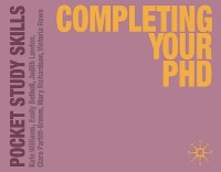 Cover Completing Your PhD