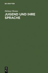 Cover Jugend und ihre Sprache