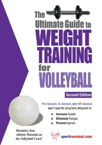 Cover Ultimate Guide to Weight Training for Volleyball