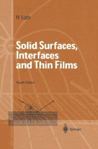 Cover Solid Surfaces, Interfaces and Thin Films