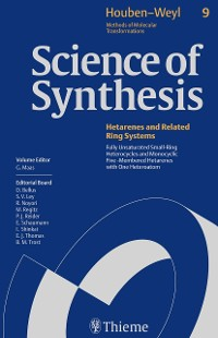 Cover Science of Synthesis: Houben-Weyl Methods of Molecular Transformations  Vol. 9