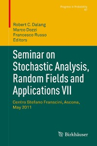 Cover Seminar on Stochastic Analysis, Random Fields and Applications VII