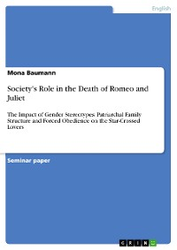 Cover Society's Role in the Death of Romeo and Juliet