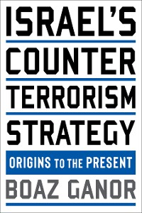 Cover Israel's Counterterrorism Strategy
